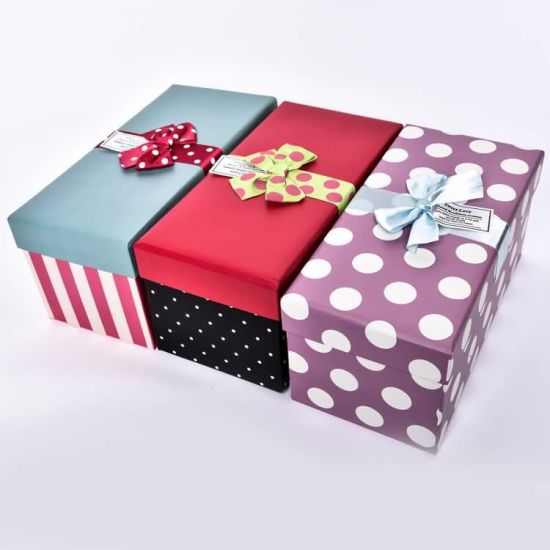 Customized Gift Packaging Paper Box Birthday Bag