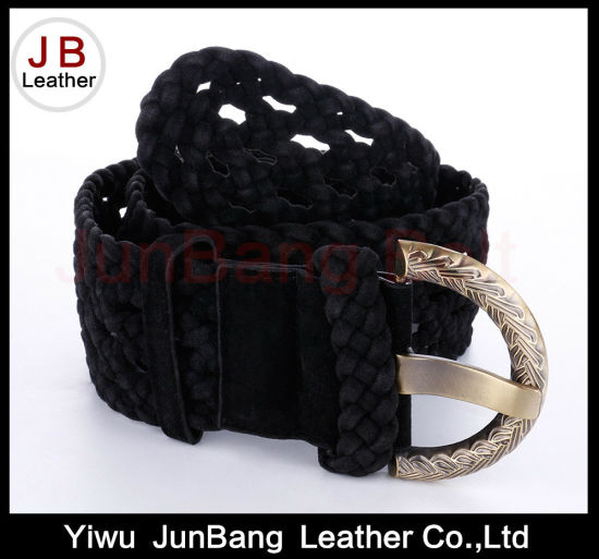 Best-Selling Women′s PU Braid Belt pictures & photos