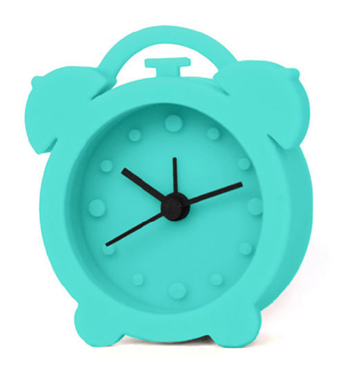 Kids Bedroom Round Colorful Promotional Silicone Desktop Alarm Clock pictures & photos