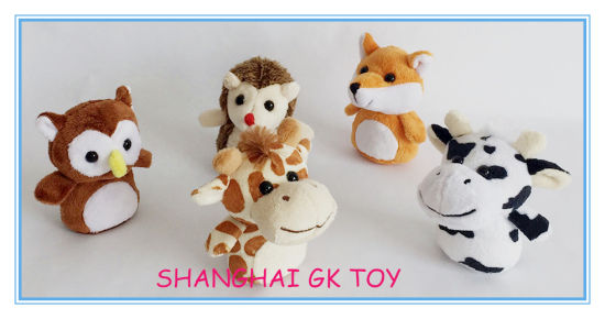 New Mini Hedgehog Giraffe Fox Plush Animal Set pictures & photos