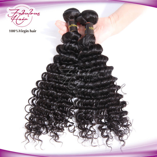 Factory Virgin Human Hair Extension Virgin Remy Brazilian Human Hair pictures & photos