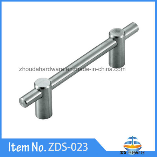 China Hollow Solid Stainless Steel Cabinet Handles Furniture