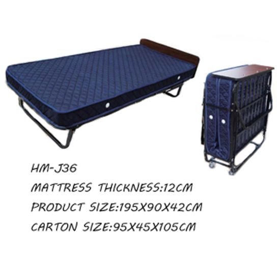 Extra Bed Hotel Folding Sofa Metal Hm J36