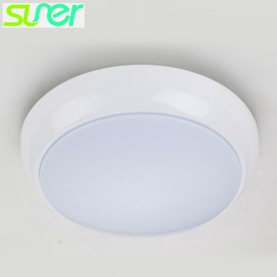 Ip64 Surface Mounted Led Ceiling Light With Built In Radar Sensor 15w 6000 6500k Cool White