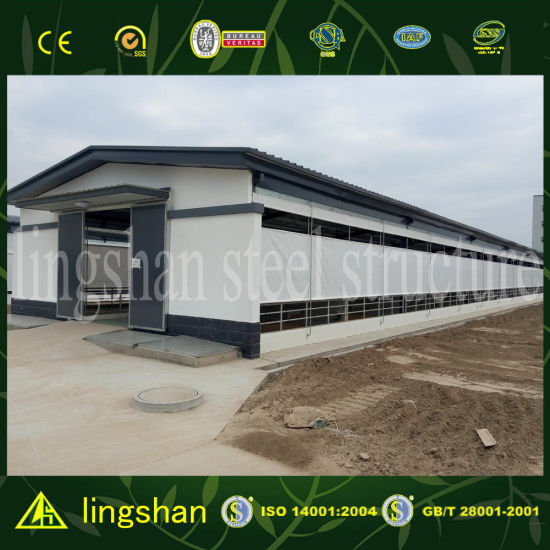 Pre Engineered Steel Structure Sheep Shed Farm House pictures & photos