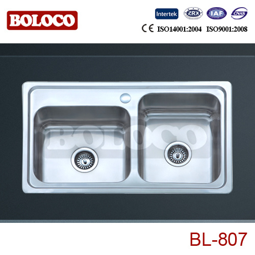China Stainless Steel Kitchen Sink Bl 807 China Steel Sinks Stainless Steel Sink