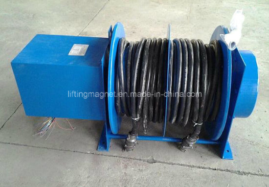 Double-Drum Cable Reel for Control Cable