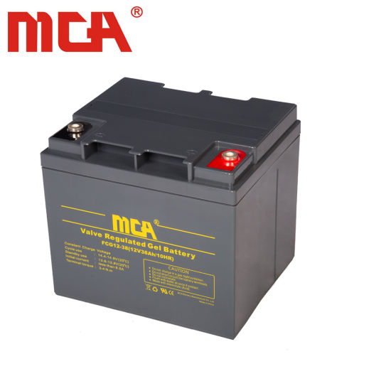 Deep Cycle 12V38ah Gel Battery for Home Solar System