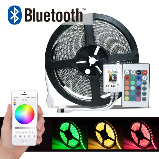 Bluetooth Controlled LED Strip Light Controller Android