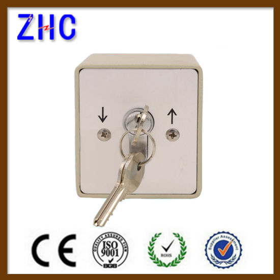 Waterproof Aluminum Roller Shutter Electrical Key Lock Switch pictures & photos
