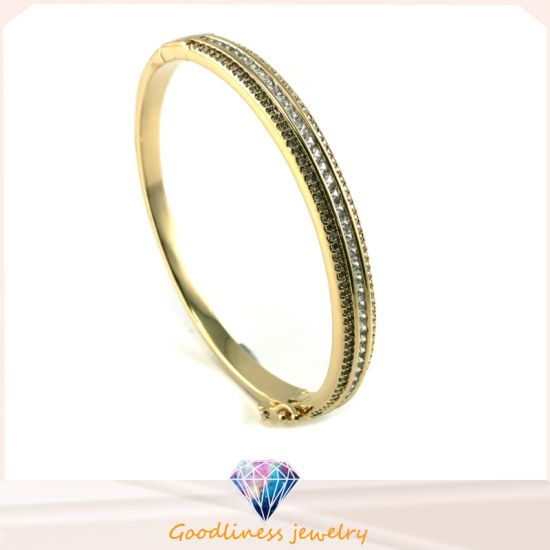 Fashion New Gold Charm Silver Bangle Bracelets Metal Bangle for Women Men Jewelry Gifts Bangle Bracelets G41343 pictures & photos