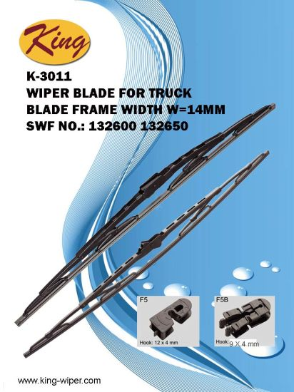 "26""/650mm Truck Wiper Blade Can Replace Swf 132650, Renault 5001821426, Tir 650n for Man, Benz pictures & photos"