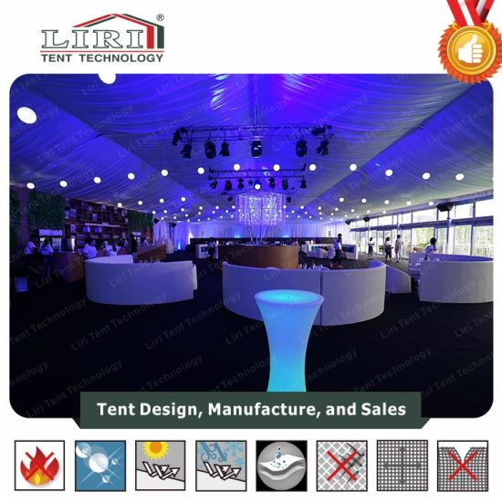 1500 People Modern Event Tent with Glass Wall for Event Center pictures & photos