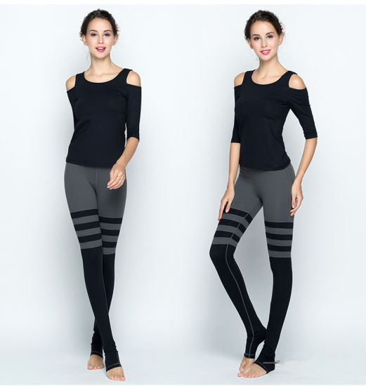 43d056e73f581 China Gym Wear Yoga Wear Tops and Legging Pants - China Legging ...