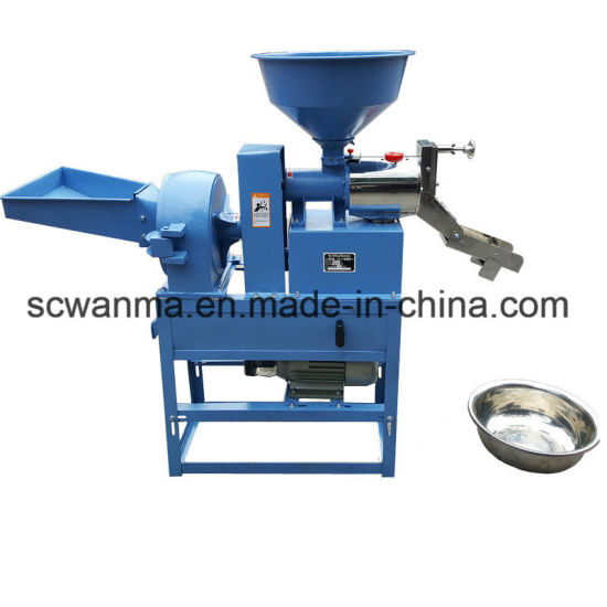 Multipurpose Rice Milling and Crushing Combination Machine pictures & photos