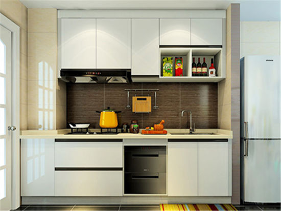 Simple Design Kitchen Cabinet Easier to Clean