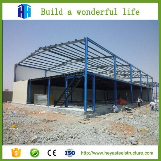 China Prefabricated Steel Frame Structure Warehouse Construction ...