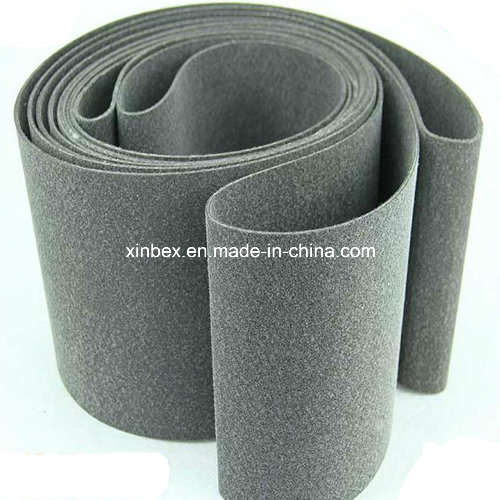 High Temperature Resistant Conveyor Belt Grey Felt Belt pictures & photos