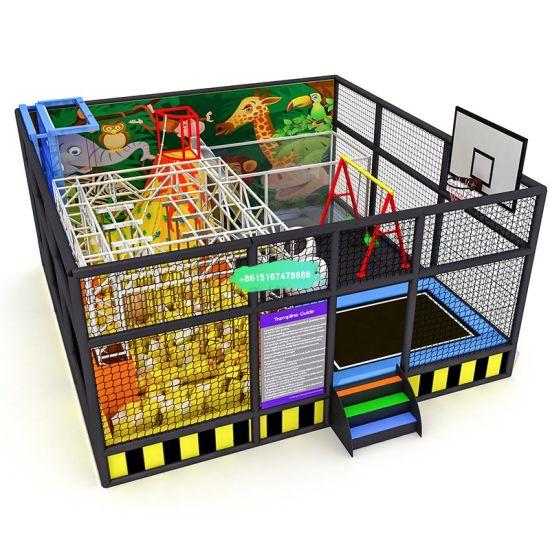 Children New Design Small Indoor Playground Theme Standard Theme Kids Big Indoor Playground for Sale