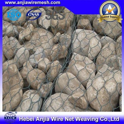 Galvanized Hexagonal Wire Mesh Netting Gabion Box Cages