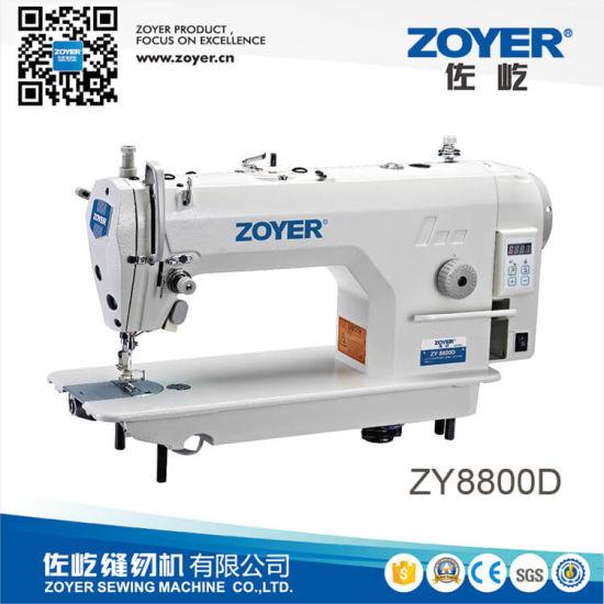 Zy8800d Zoyer Direct Drive High Speed Lockstitch Industrial Sewing Machine