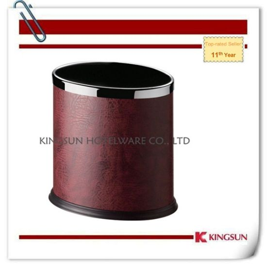 China Red Color Bathroom Garbage Can Without Lid China Bathroom