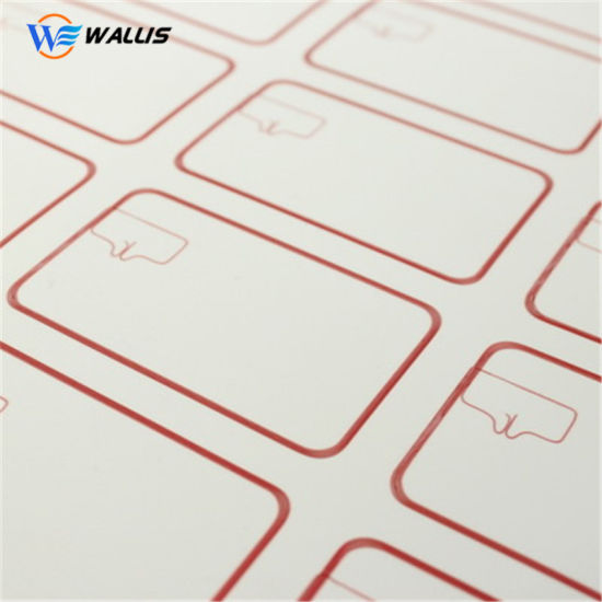 A3 Plastic Sheet Layout 2*5 13.56MHz PVC RFID Chip Inlay Polycarbonate Sheet