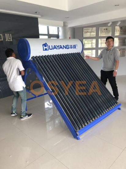 Osyea Solar En12976 Certificate 200L 250L 300L Non Pressure Solar Energy Water Heater