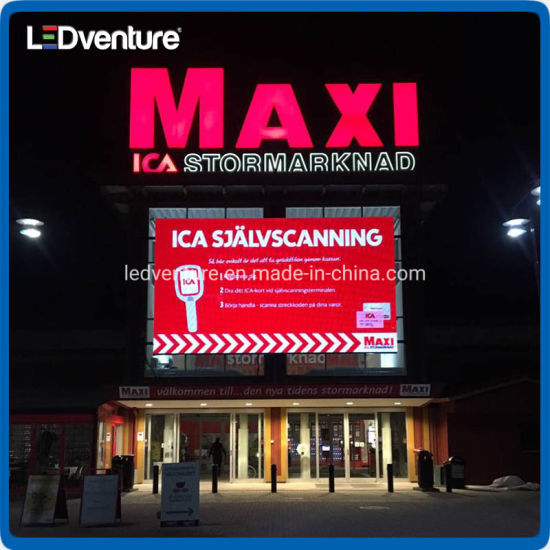 Full Color Ultra Thin HD Video Outdoor LED Display for Advertising
