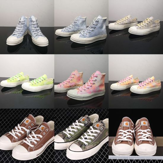 High-Top Classic Adult Student Casual Canvas Vulcanized Shoes