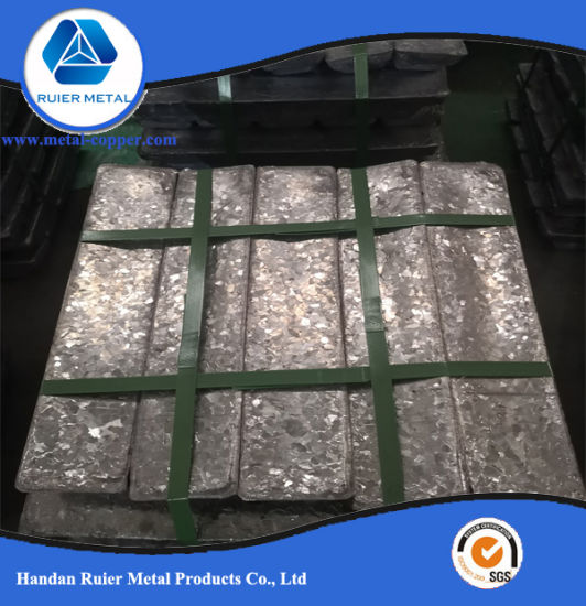 Factory Price Refined Pure Metal Lead Ingot 99.994% with Reasonable Price pictures & photos