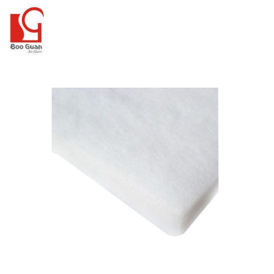 Professional Standard Cloth Non Woven Polyester Air Filter Cotton Fiber pictures & photos
