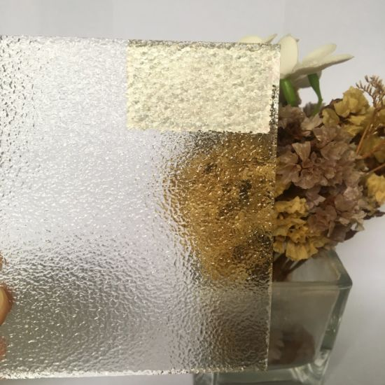 3mm-8mm Clear Figured Architectural Floral Kasumi Pattern Glass