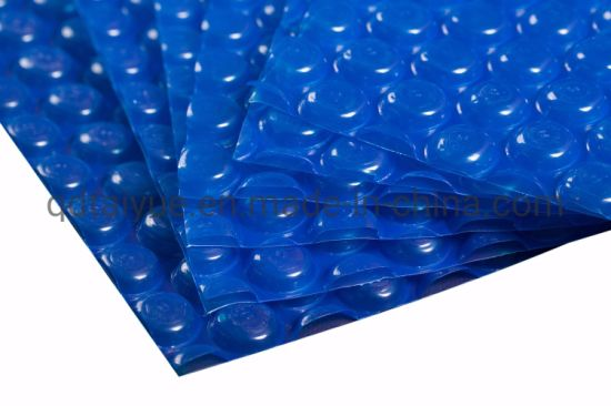 Polyethylene Material Blue Bubble Rigid Solar Swimming Pool Cover for Sale