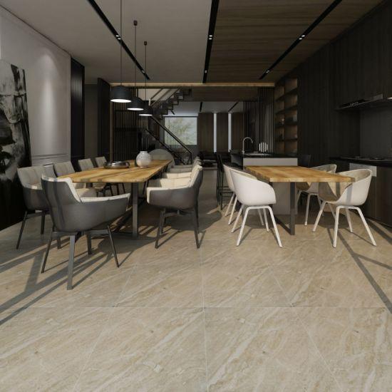 China Big Size Rustic Price List Brown Popular Kitchen Tile