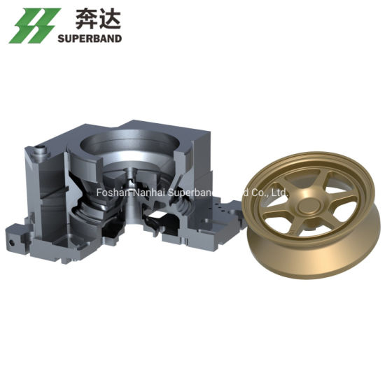 Aluminum Alloy Wheel Mould for OE Market with Mold Trial Service