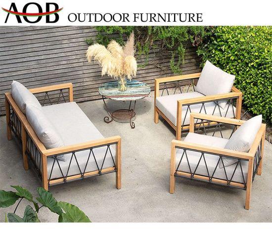 Whole Contemporary Outdoor Hotel Garden Furniture Lobby Sets Corner Sofa