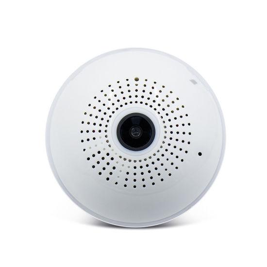 LED Light 960p 1080P Wireless Panoramic Home Security WiFi CCTV Fisheye Bulb Lamp IP Camera 360 Degree Home Security Burglar