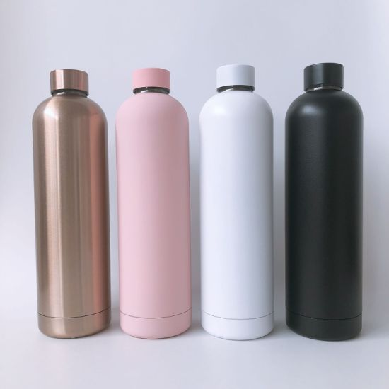 Custom Logo 750ml Hot and Cold Water Stainless Steel Vacuum Thermo Sport Water Bottle