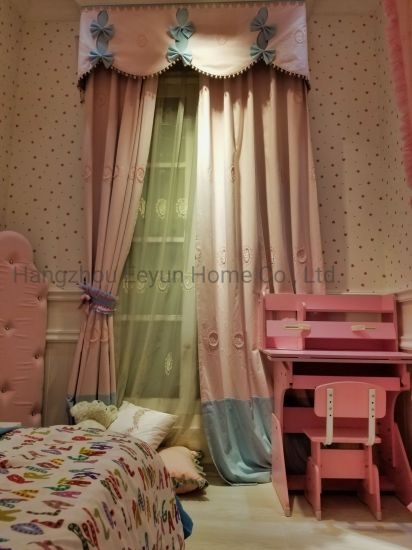 Upholstery Sofa Fabric and Curtain Fabric, Home Textile, Embroidery Process, Cartoon Pattern, Children, Shading Cloth, Yarn Dyed for Chair, Chusion, Decoration