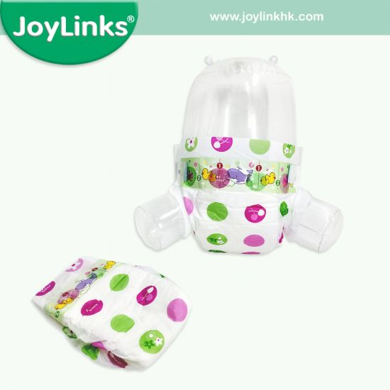 2019 Cheap Price Economic Disposable Baby Diaper with Magic Tape
