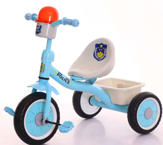Kidz Tricycle Children Toy Police Model Baby Tpy Car pictures & photos