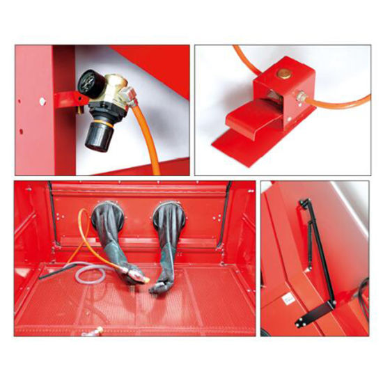 990L Capacity Industrial Cabinet Sandblaster pictures & photos