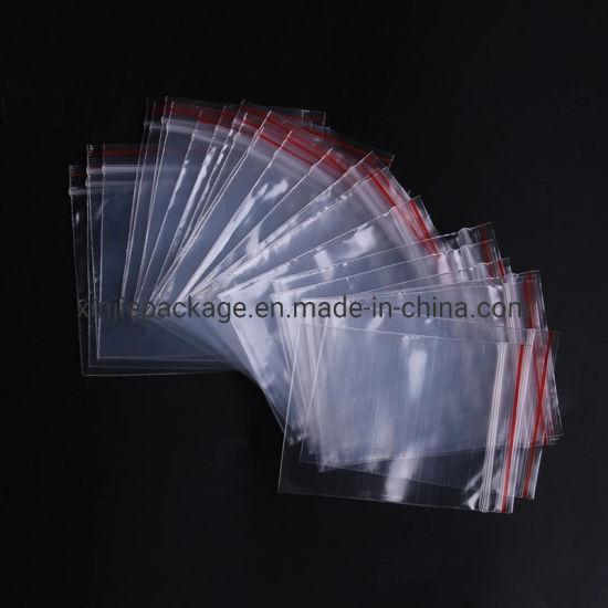 "100 8/""x11/"" Clear Grip Self Press /& Seal Resealable Zip lock Plastic Bags poly"