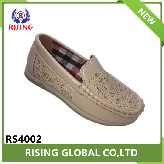 Kids Boys Fashion Casual Boat Shoes Breathable Slip on Shoes