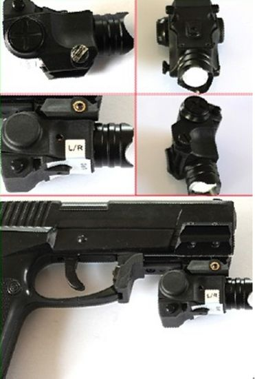 Compact Tactical Mini Pistol LED Flashlight with CREE Q5 80-100 Lumens with Strobe Function pictures & photos