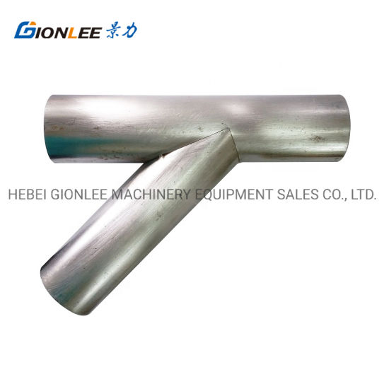 Stainless Steel Pipe Metal Processing Tee Welding Pipe Service