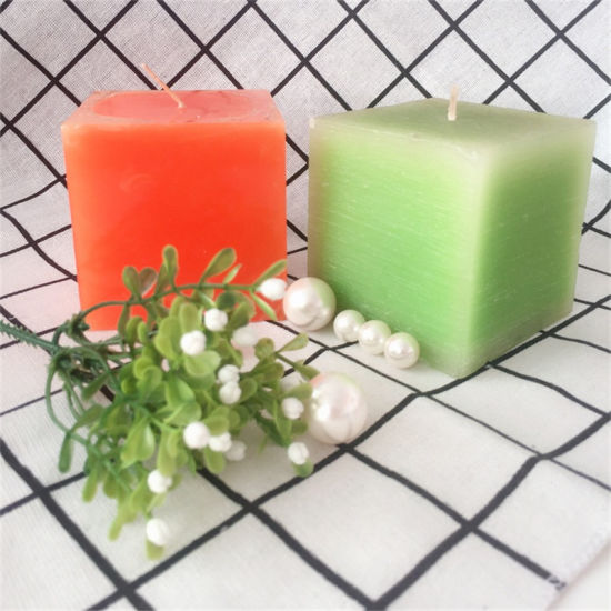 Aroma Scented Handmade Squre Pillar Candle