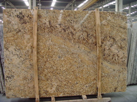 Golden Persa Granite Slab For Kitchen/Bathroom/Wall/Floor