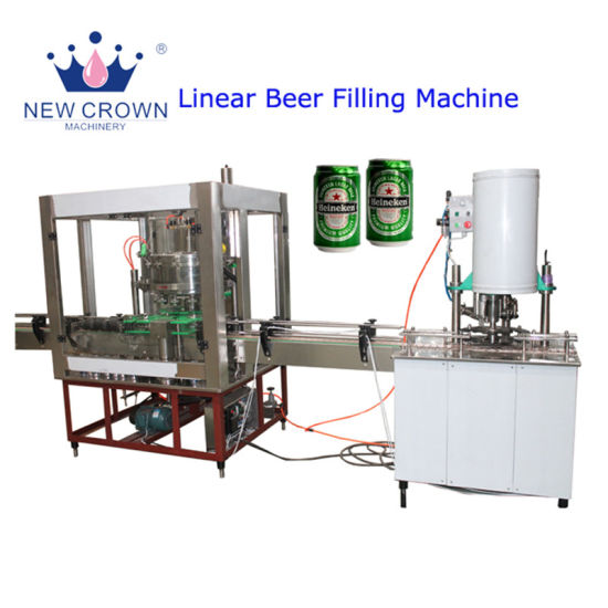 High Quality 2000-3000bph Brewing Beer Canning Equipment/ Monobloc 3-in-1 Beverage Liquid Filling Machine pictures & photos